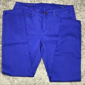122208d1575c JCPenney JCP Cobalt Blue Skinny Jeans